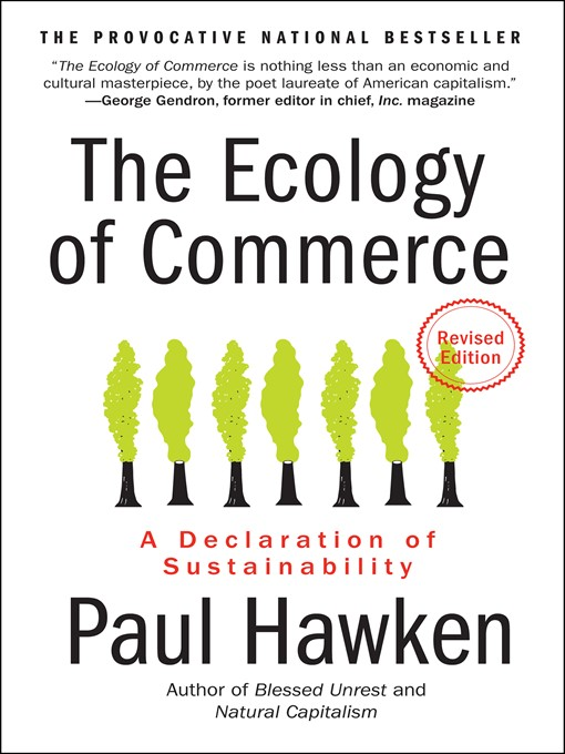 Cover of The Ecology of Commerce Revised Edition