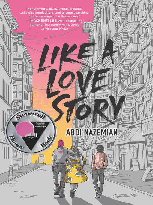 Title details for Like a Love Story by Abdi Nazemian - Wait list