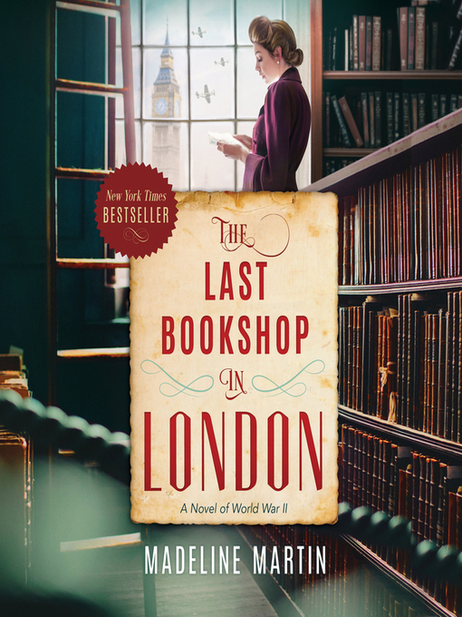 Title details for The Last Bookshop in London by Madeline Martin - Wait list