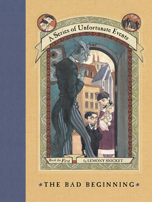 a book report on a series of unfortunate events the bad beginning a novel by lemony snicket A series of unfortunate events is an american black comedy-drama television series from netflix, developed by mark hudis and barry sonnenfeld, based on the children's novel series of the same name by lemony snicket it stars neil patrick harris, patrick warburton, malina weissman, louis hynes, k todd freeman, and presley smith.