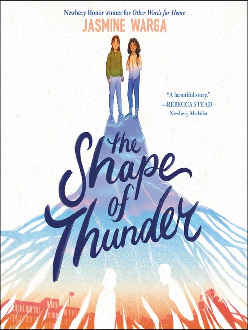 Title details for The Shape of Thunder by Jasmine Warga - Wait list