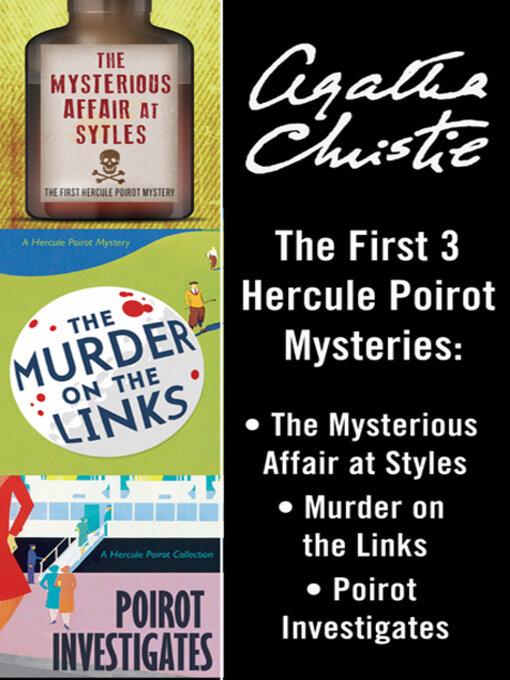 Title details for Poirot Bundle by Agatha Christie - Wait list