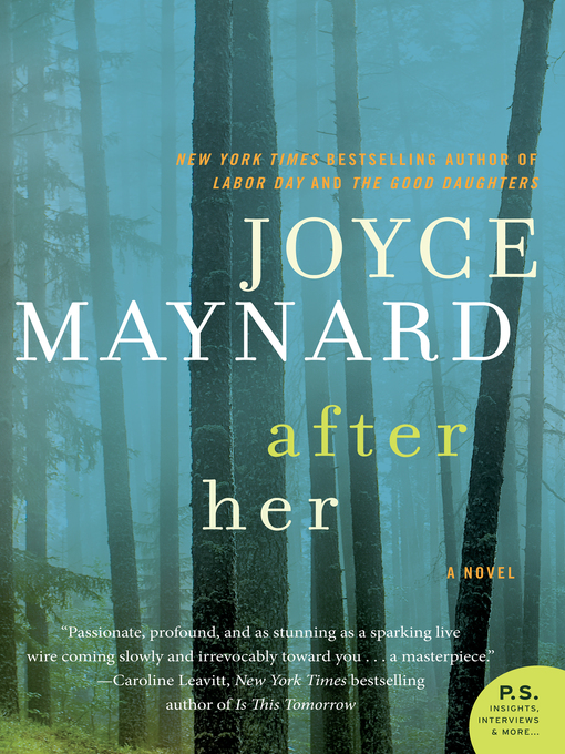 Title details for After Her by Joyce Maynard - Available
