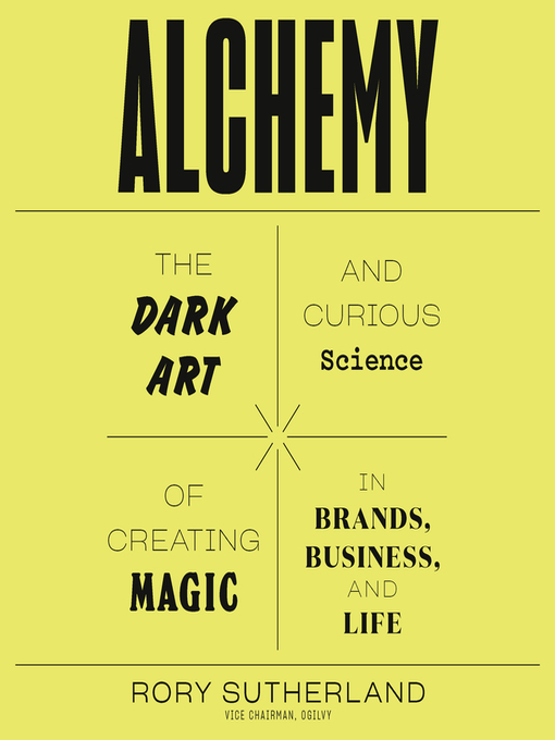 Title details for Alchemy by Rory Sutherland - Available