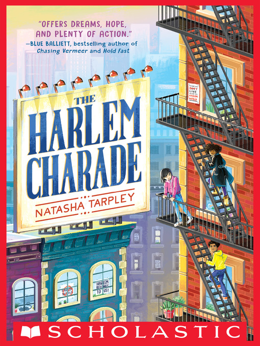 Title details for The Harlem Charade by Natasha Tarpley - Wait list