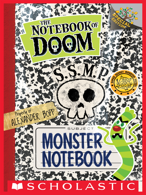 Cover of Monster Notebook