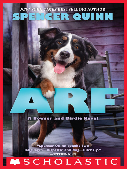 Title details for Arf by Spencer Quinn - Wait list