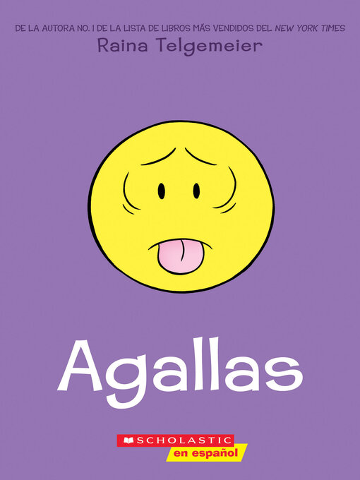 Title details for Agallas (Guts) by Raina Telgemeier - Wait list