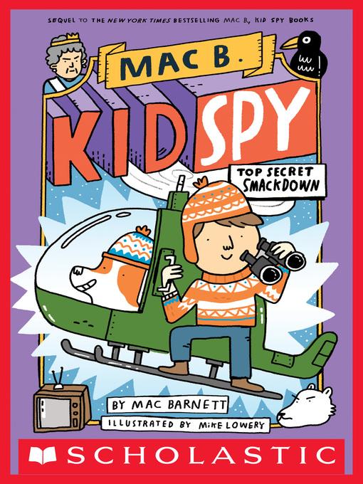 Title details for Top Secret Smackdown by Mac Barnett - Wait list