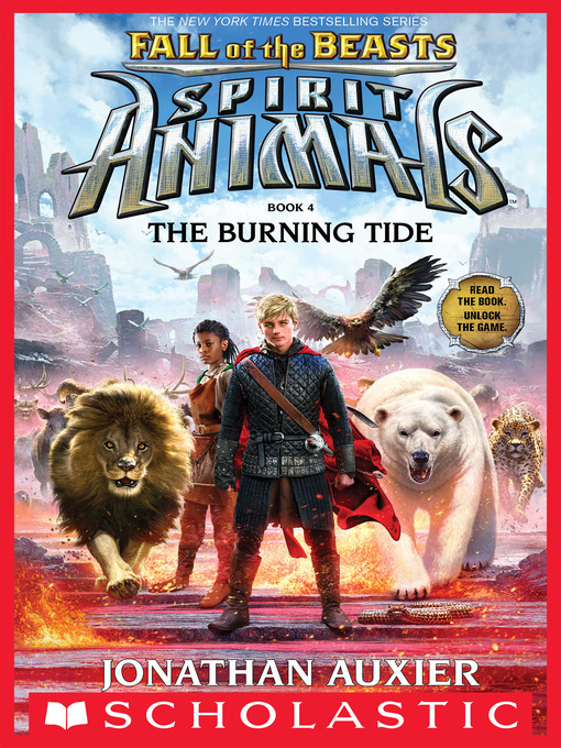 Title details for The Burning Tide by Jonathan Auxier - Available