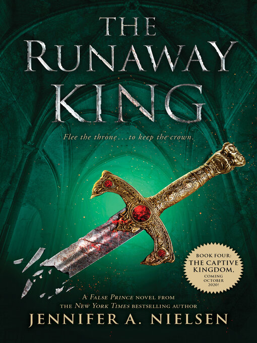 Title details for The Runaway King by Jennifer A. Nielsen - Wait list
