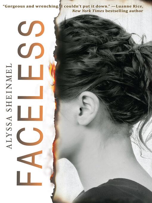 Title details for Faceless by Alyssa Sheinmel - Wait list