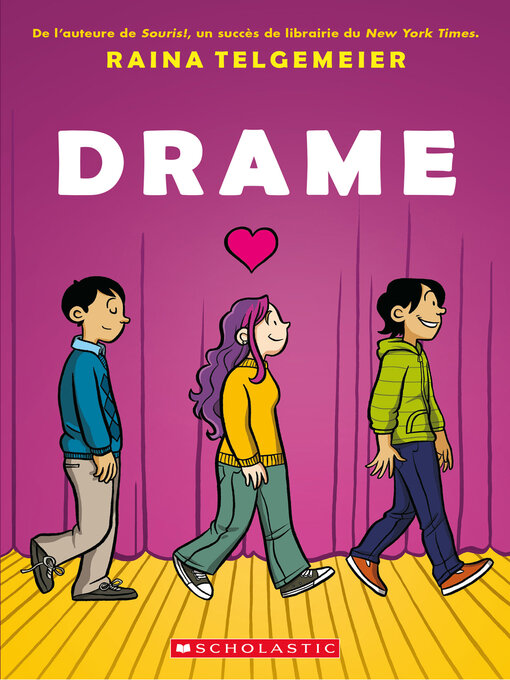 Title details for Drame by Raina Telgemeier - Available