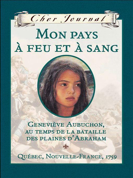 Title details for Mon pays à feu et à sang by Maxine Trottier - Available