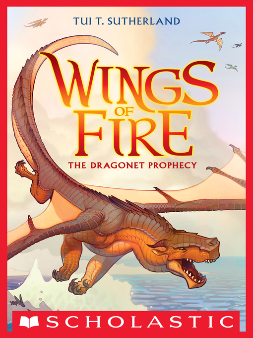 Cover image for The Dragonet Prophecy by Tui T. Sutherland