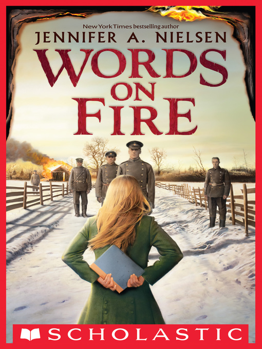 Title details for Words on Fire by Jennifer A. Nielsen - Wait list