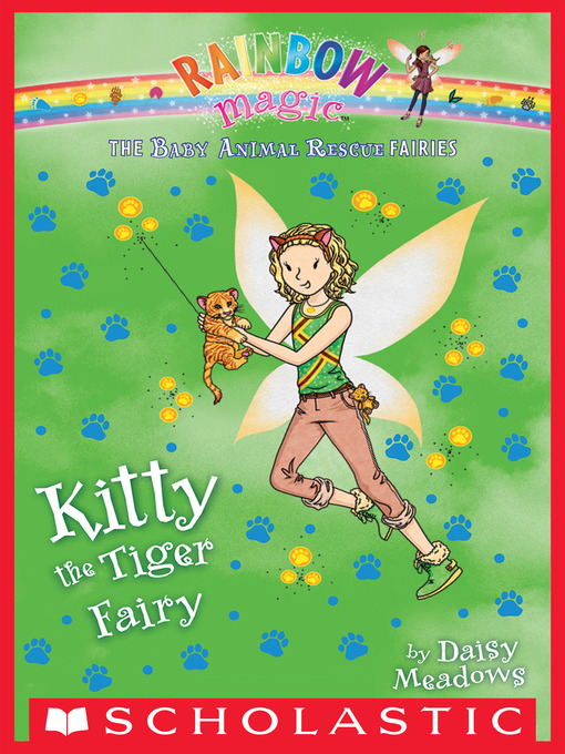 Cover image for Kitty the Tiger Fairy