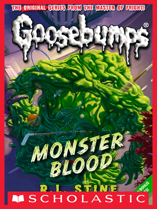 Title details for Monster Blood by R.L. Stine - Available