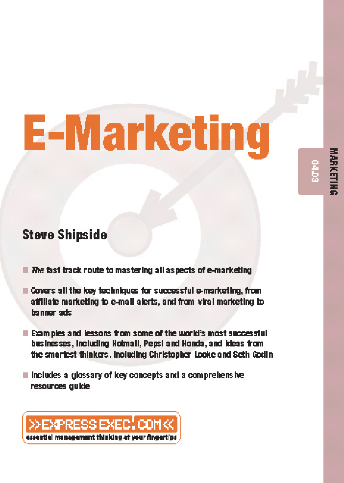 Title details for E-Marketing by Steve Shipside - Available