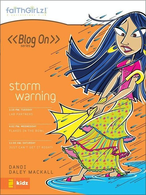 Title details for Storm Warning by Dandi Daley Mackall - Wait list