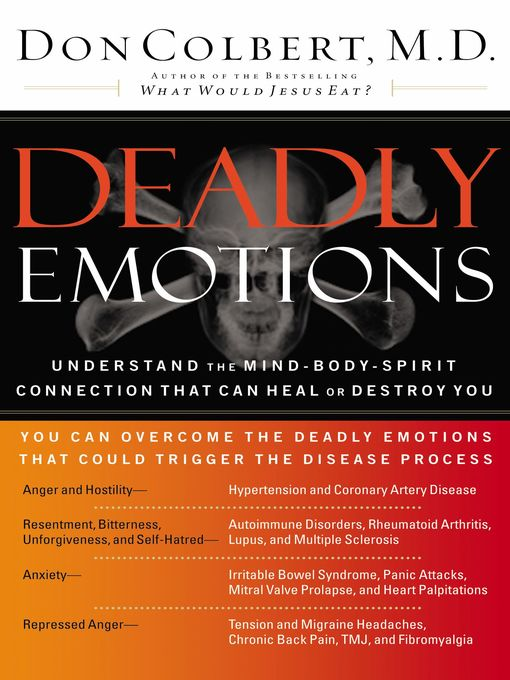 Title details for Deadly Emotions by Don Colbert - Available
