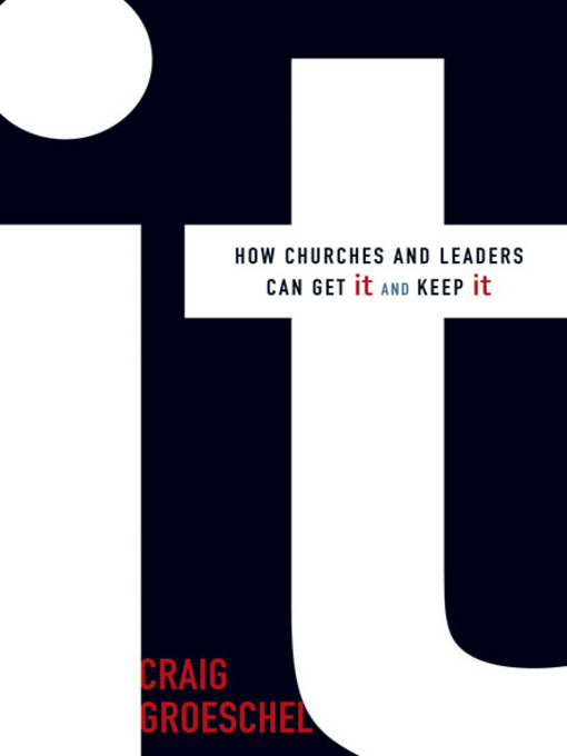 Title details for It by Craig Groeschel - Available