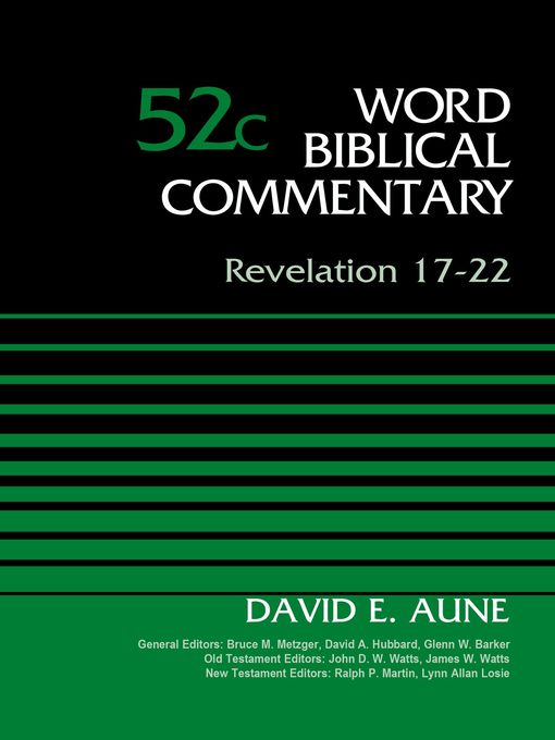Title details for Revelation 17-22, Volume 52C by Dr. David Aune - Available