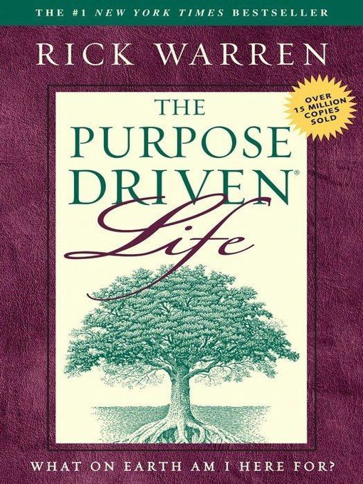 Title details for The Purpose Driven Life by Rick Warren - Wait list