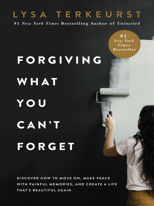 Title details for Forgiving What You Can't Forget by Lysa TerKeurst - Wait list