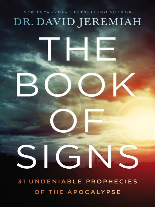 Title details for The Book of Signs by Dr.  David Jeremiah - Wait list