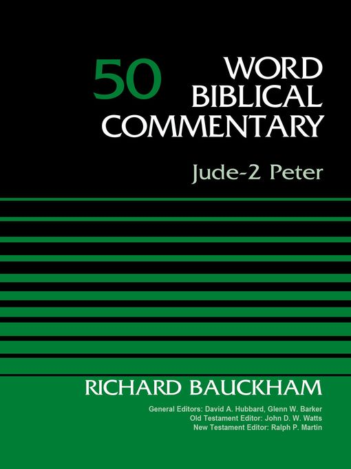 Title details for Jude-2 Peter, Volume 50 by Dr. Richard Bauckham - Available