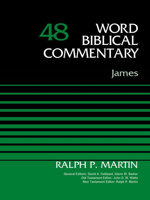 Title details for James, Volume 48 by Ralph P. Martin - Available