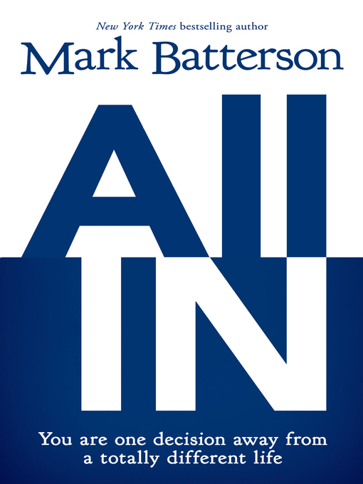 Title details for All In by Mark Batterson - Available