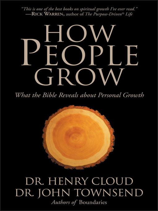 Title details for How People Grow by Henry Cloud - Available