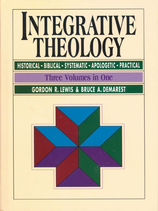 integrative theology i Part one: guidelines for draft of integrative paper the draft should be at least  eight pages (but no more than 15 pages) (not counting cover page, index, reference pages, and any appendices.