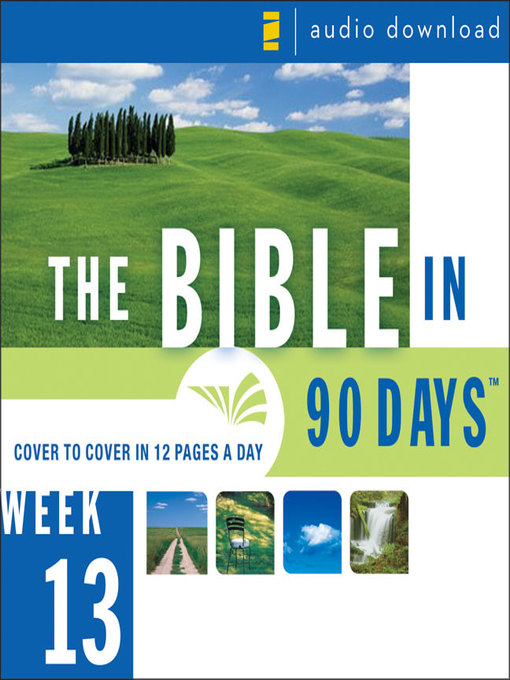 Title details for The Bible in 90 Days by Ted Cooper, Jr. - Available