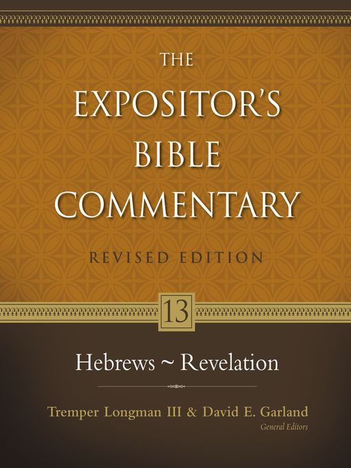 Title details for Hebrews--Revelation by David E. Garland - Available