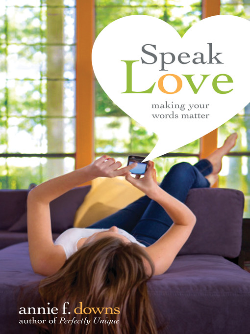 Cover of Speak Love