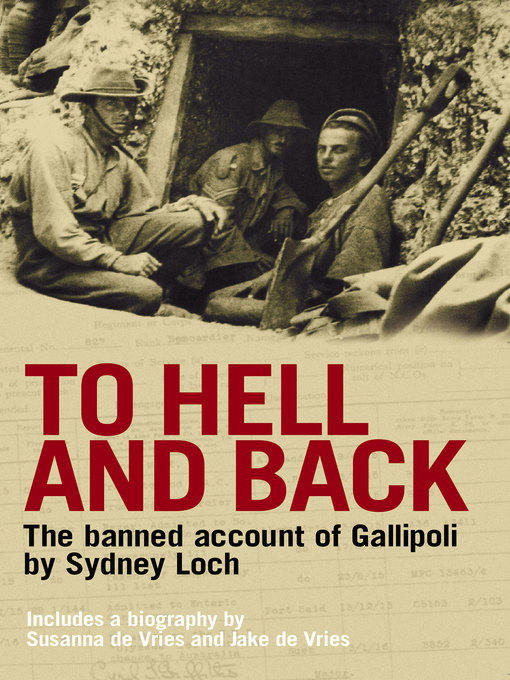 Title details for To Hell and Back by Susanna De Vries - Available
