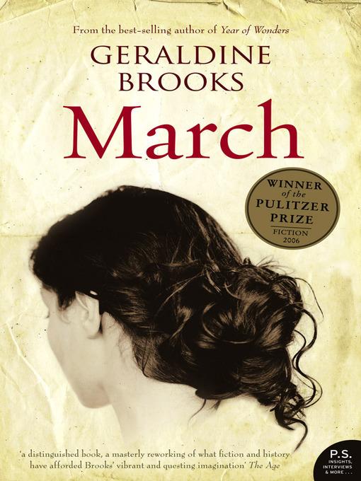 Title details for March by Geraldine Brooks - Wait list