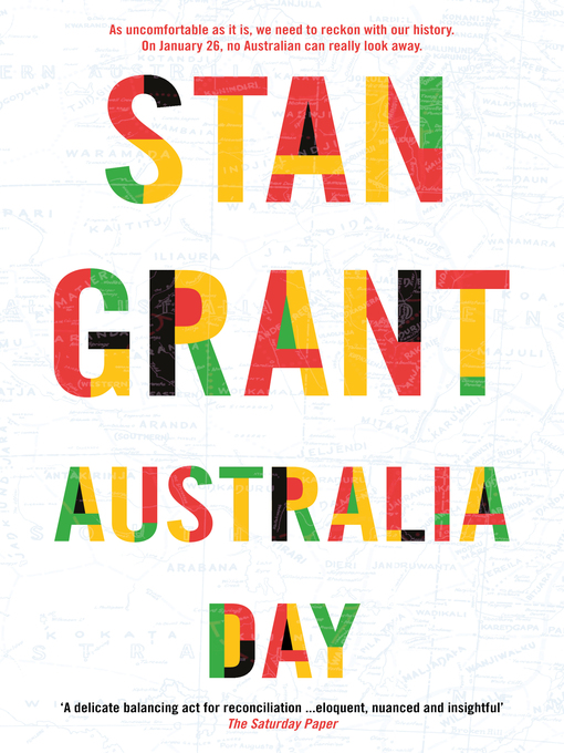 Title details for Australia Day by Stan Grant - Wait list