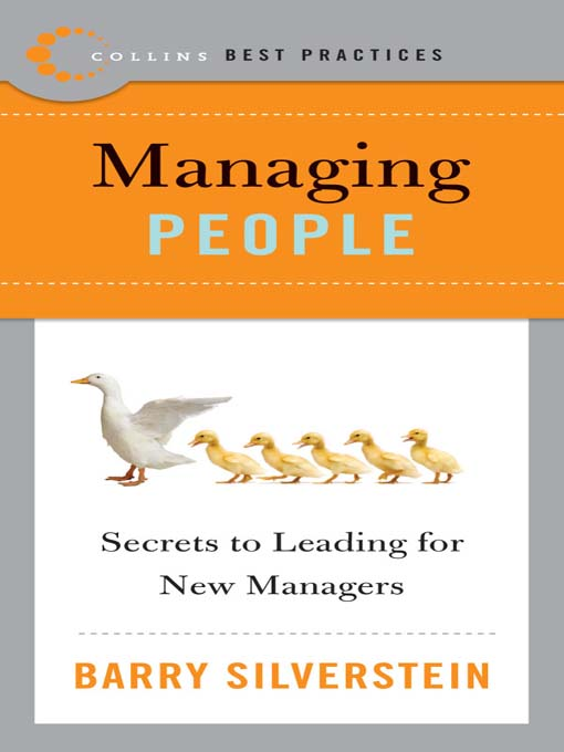 Title details for Best Practices: Managing People by Barry Silverstein - Available