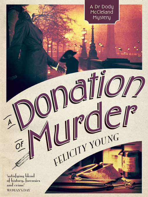 Title details for A Donation of Murder by Felicity Young - Wait list