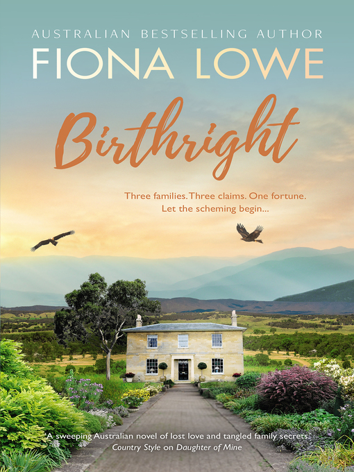 Title details for Birthright by Fiona Lowe - Wait list