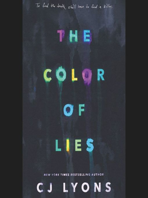 Cover of The Color of Lies