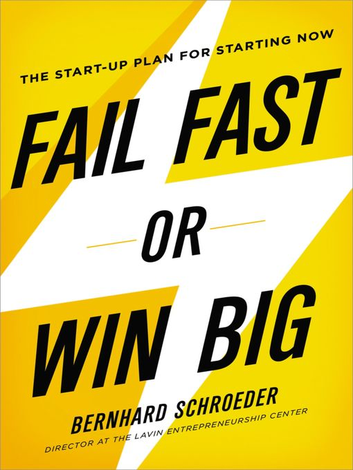 Title details for Fail Fast or Win Big by Bernhard Schroeder - Available