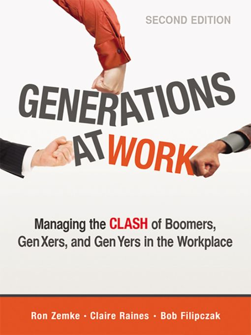 Title details for Generations at Work by Ron Zemke - Available