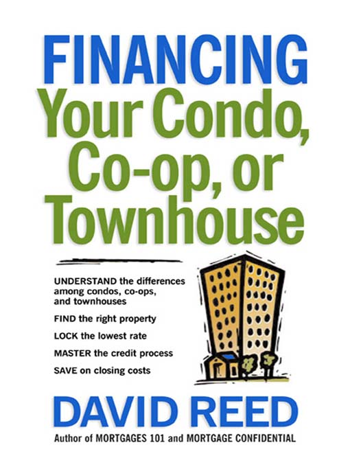 Cover of Financing Your Condo, Co-Op, or Townhouse