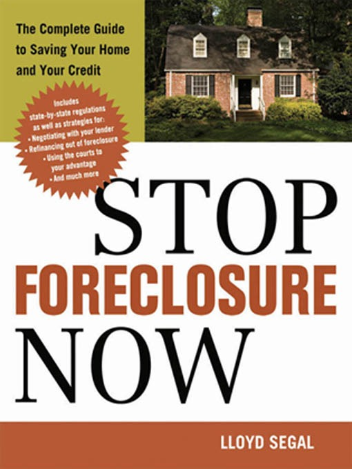 Title details for Stop Foreclosure Now by Lloyd Segal - Available