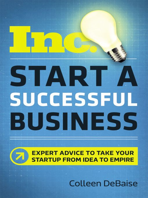 Title details for Start a Successful Business by Colleen DeBaise - Available